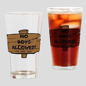 HBD 1 Drinking Glass