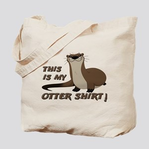 This Is My Otter Shirt Funny Tote Bag
