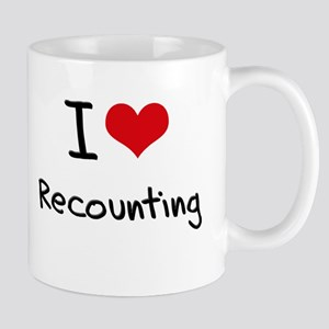 I Love Recounting Mug