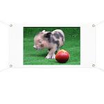 Peach as a Pig Banner