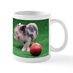 Peach as a Pig Small Mug