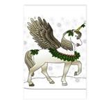 Holly Pegacorn! Winter Postcards (Package of 8)
