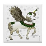 Holly Pegacorn! Winter Tile Coaster