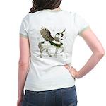 NEW! (Design on Back) Jr. Ringer T-Shirt