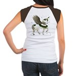 Holly Pegacorn! Winter Women's Cap Sleeve T-Shirt