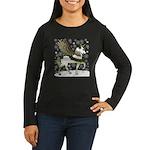 Holly Pegacorn! Winter Women's Long Sleeve Dark T-