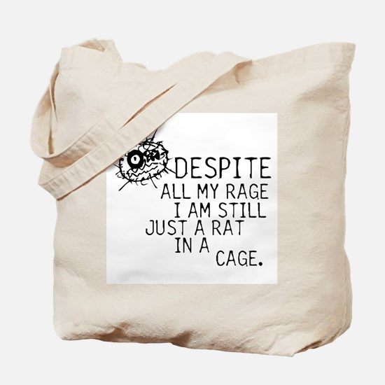 Still Just A Rat In A Cage Tote Bag