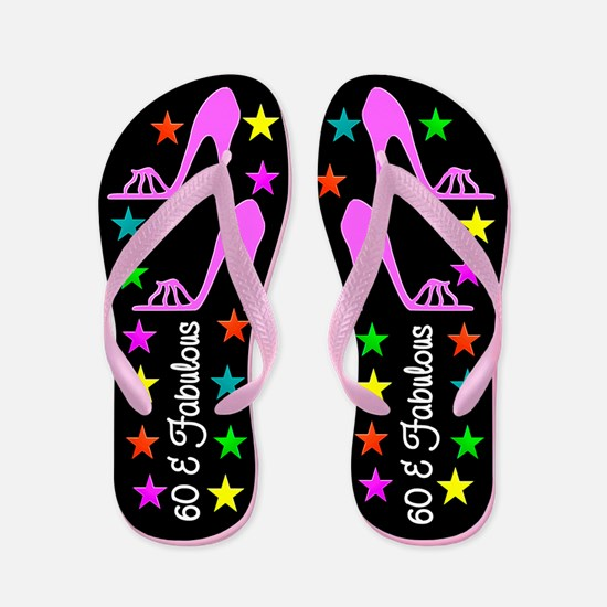RITZY 60TH Flip Flops