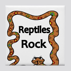 Reptiles Rock Tile Coaster