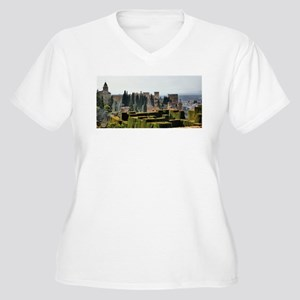 The Alhambra palace in Spain Plus Size T-Shirt