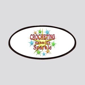 Crocheting Sparkles Patches