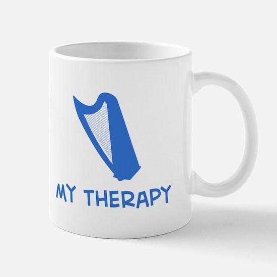 Celtic Harp my therapy Mug