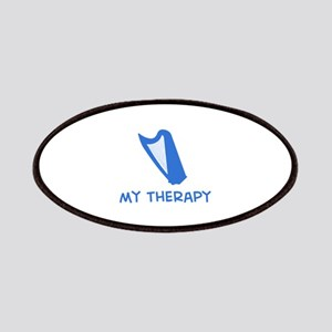 Celtic Harp my therapy Patches