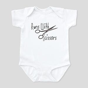 I Run with Scissors Infant Bodysuit