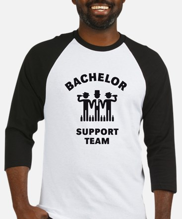 Bachelor Support Team (Stag Party / Black) Basebal