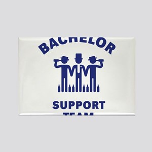 Bachelor Support Team (Stag Party / Blue) Rectangl