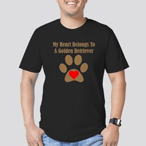My Heart Belongs To A Golden Retriever T-Shirt