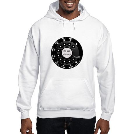 Rotary Faux -bw Hooded Sweatshirt