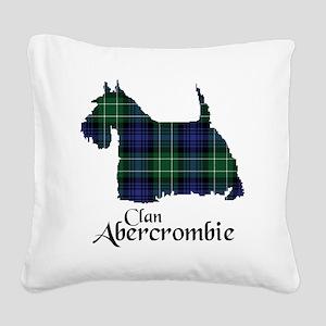 Terrier - Abercrombie Square Canvas Pillow