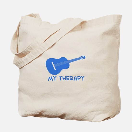 Ukelele my therapy Tote Bag