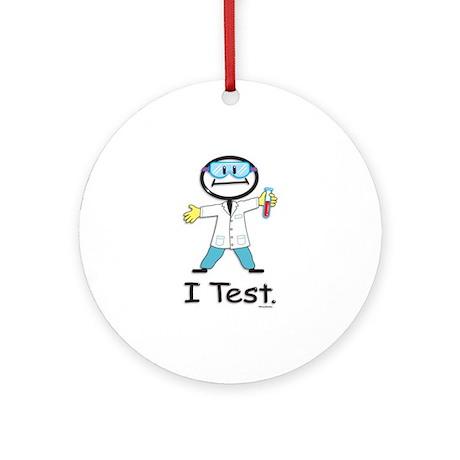 Medical Lab Tech Ornament (Round)