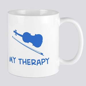 Violin my therapy Mug