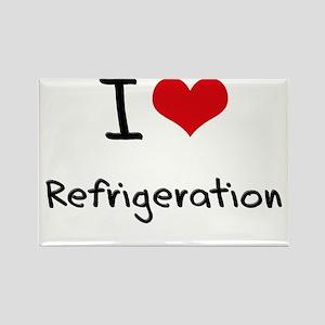 I Love Refrigeration Rectangle Magnet