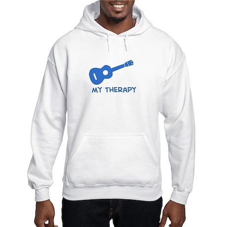Ukelele my therapy Hooded Sweatshirt