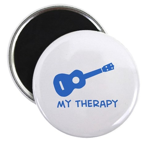 "Ukelele my therapy 2.25"" Magnet (10 pack)"