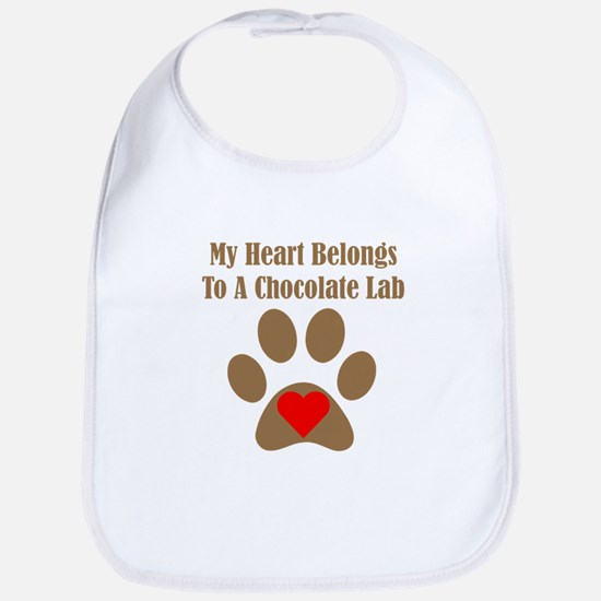 Chocolate Lab2 Bib