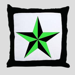 Nautical Star Throw Pillow