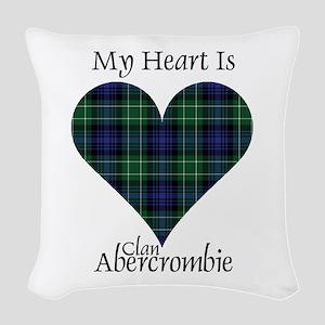 Heart - Abercrombie Woven Throw Pillow