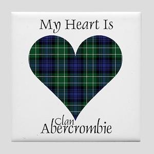 Heart - Abercrombie Tile Coaster