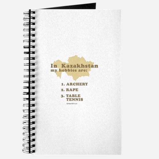Kazakhstan hobbies Journal