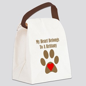 Brittany2 Canvas Lunch Bag
