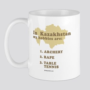 Kazakhstan hobbies Mug