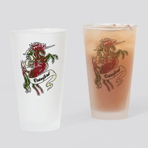 Crawford Unicorn Drinking Glass