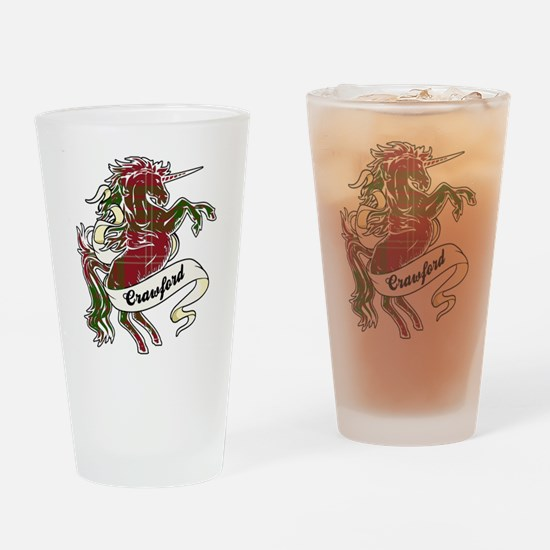 Crawford Unicorn Drinking Glass