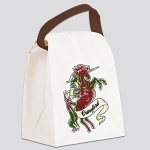 Crawford Unicorn Canvas Lunch Bag
