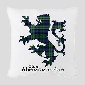 Lion - Abercrombie Woven Throw Pillow