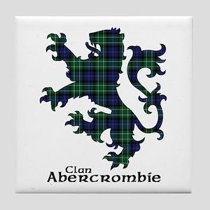 Lion - Abercrombie Tile Coaster