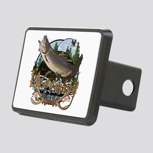Wyoming is Paradise 3 Rectangular Hitch Cover