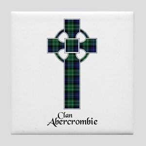 Cross - Abercrombie Tile Coaster