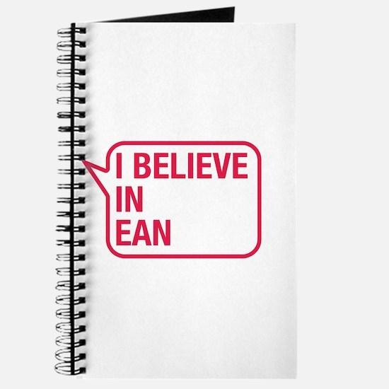 I Believe In Ean Journal