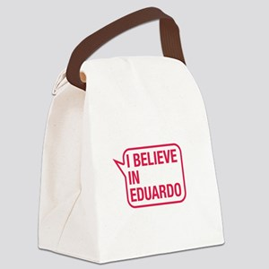 I Believe In Eduardo Canvas Lunch Bag