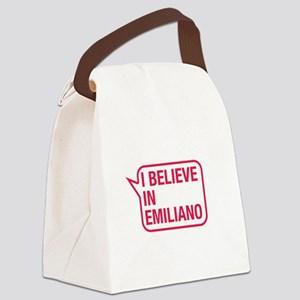 I Believe In Emiliano Canvas Lunch Bag