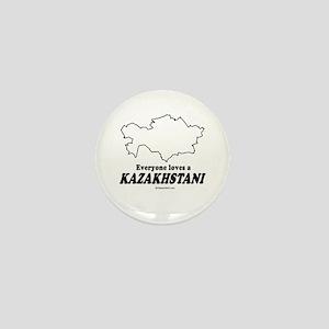 Everyone loves a Kazakhstani Mini Button