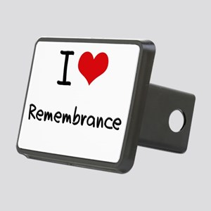 I Love Remembrance Hitch Cover