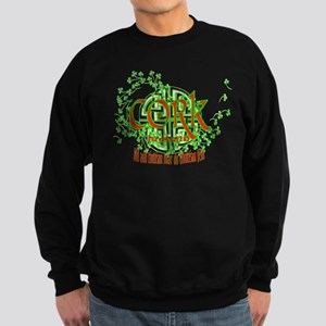 Cork Shamrock Sweatshirt (dark)