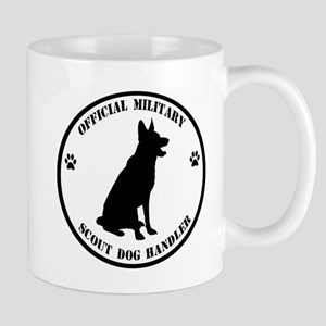 Official Military Scout Dog Handler Mug
